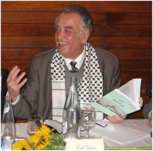 Mahmoud Sobh au café Gijon